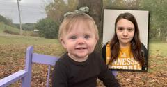 Evelyn Boswell, inset Mother Meghan Boswell Booking photo:Teen mom charged with murdering infant daughter may face death penalty