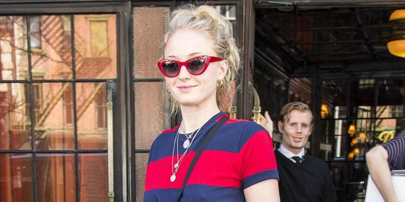 Birthday girl Sophie Turner steps out in New York City