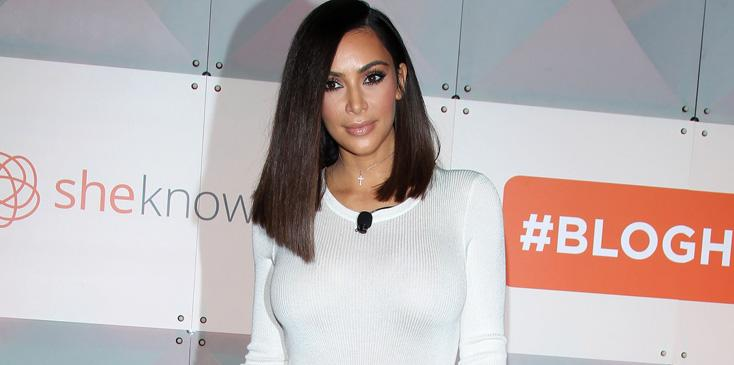 Kim Kardashian West at the #BlogHer16 Convention – Los Angeles