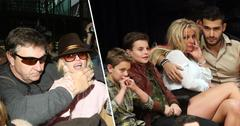 Britney Spears and Father Jamie Spears split with Britney and her sons