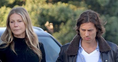 *EXCLUSIVE* Gwyneth Paltrow and Brad Falchuk have a romantic dinner at Gjelina