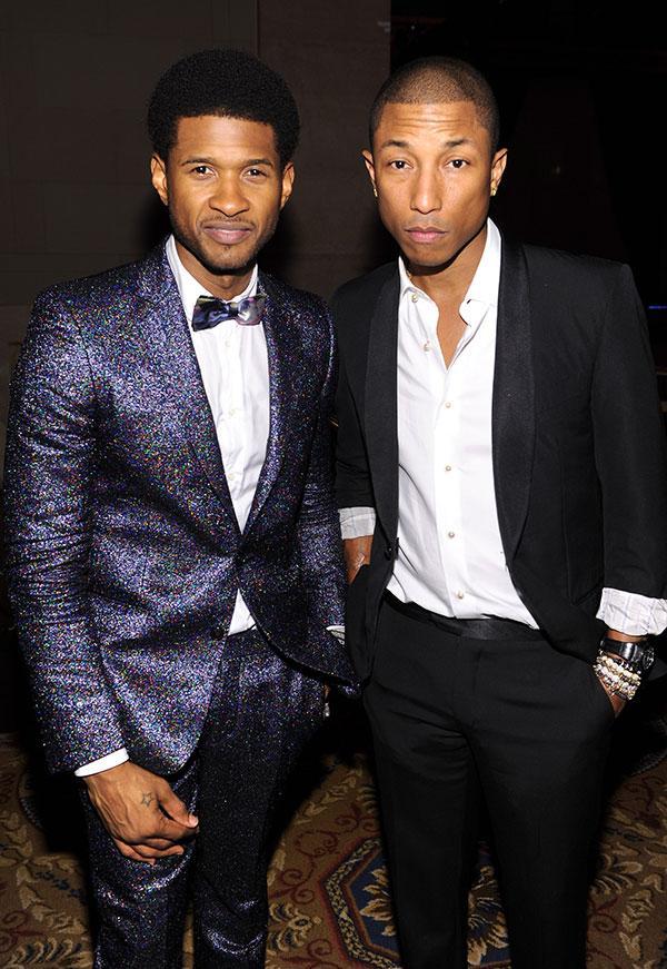 Pharrell Williams Usher Hottie of the Day