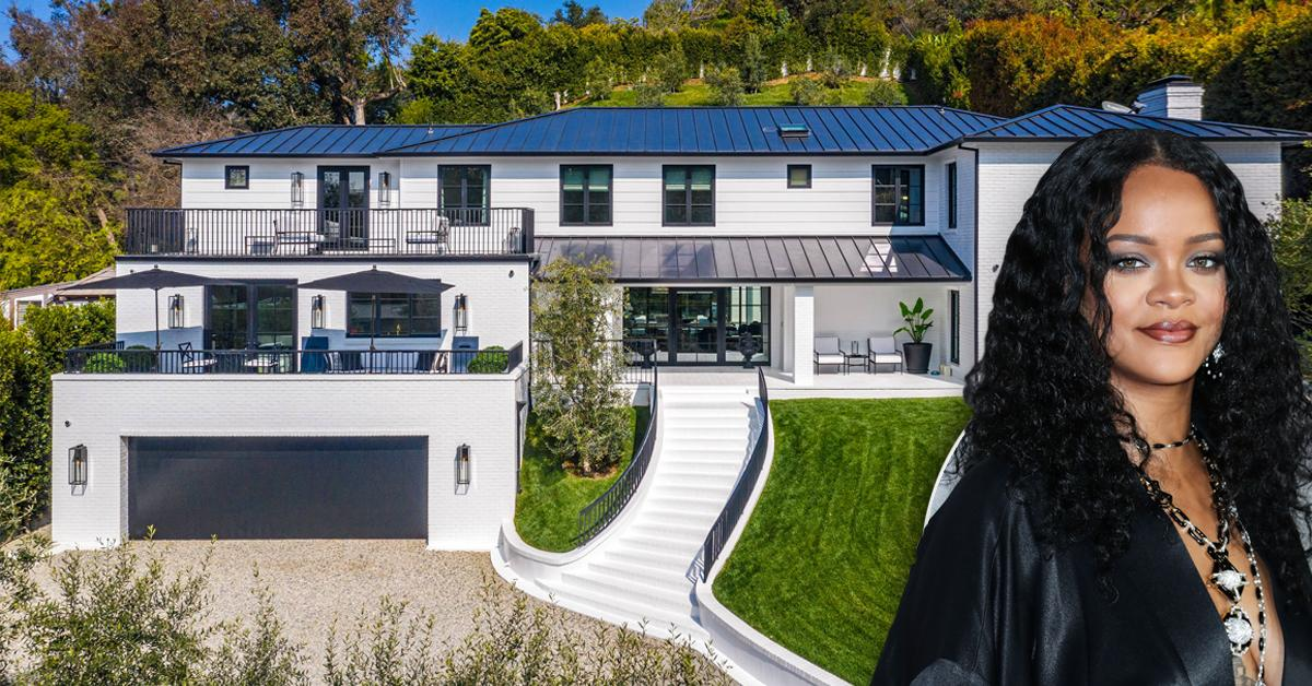 rihanna buys beverly hills home celeb real estate pf