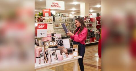 Adrienne Bailon-Houghton explores the aisles of HomeGoods