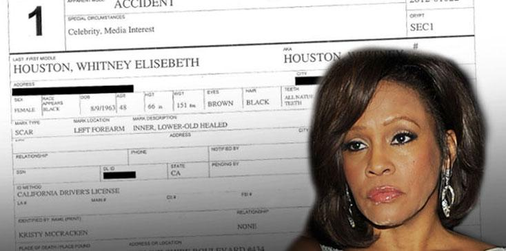 Whitney Houston Dead Autopsy Secrets Drugs Plastic Surgery ok wide