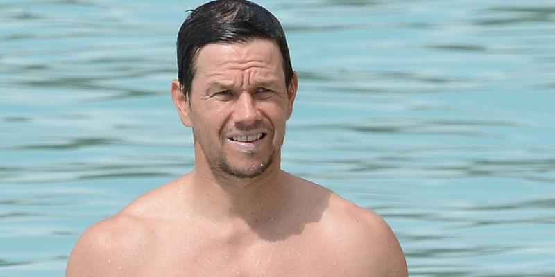 Mark Wahlberg wife Rhea Durham beach
