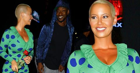 amber rose terrence ross date night