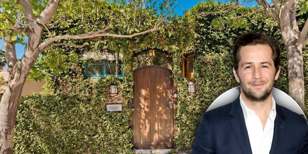 Inside Michael Angarano's Trendy Tree House In Los Angeles