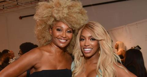 Cynthia Bailey And Porsha Williams Blonde Hairstyles