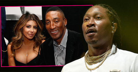 Future larsa pippen scottie cheating scandal divorce split couple war hero