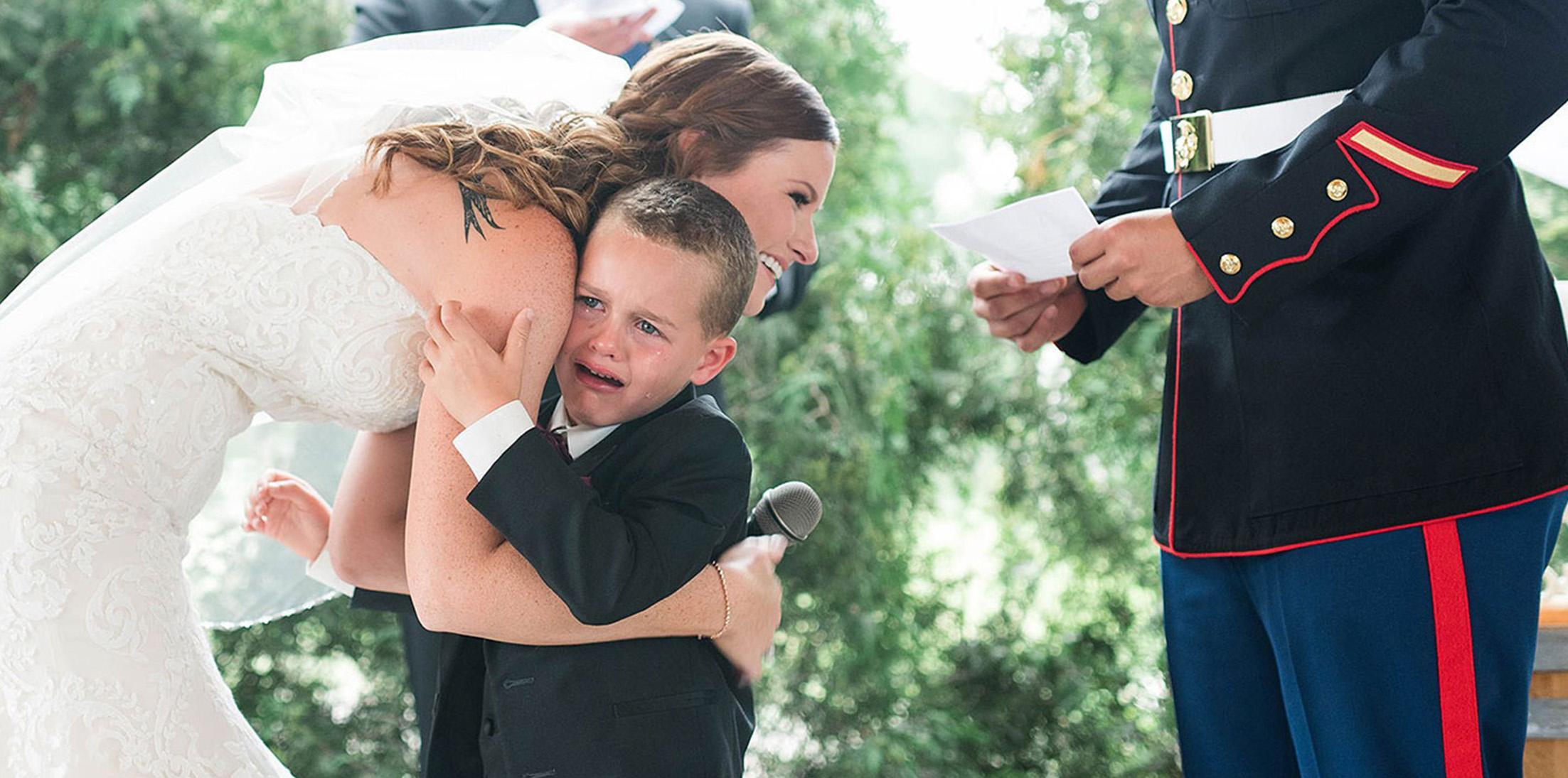 4 year old cried stepmom wedding feature