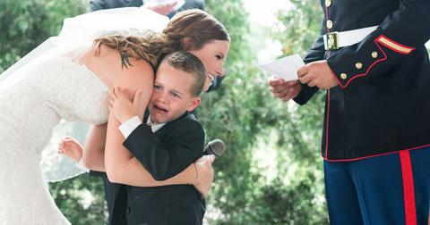 4 year old cried stepmom wedding feature