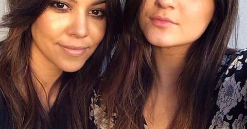 Kourtney Kardashian Kylie Jenner