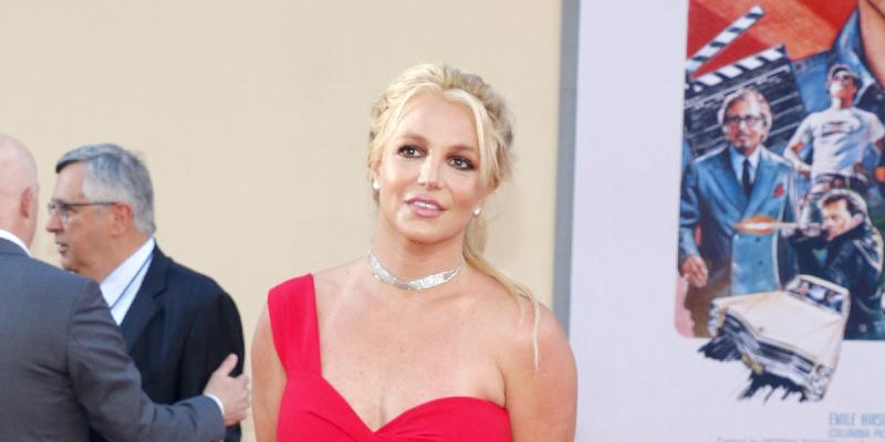Britney Spears at Los Angeles premiere of 'Once Upon a Time In Hollywood'