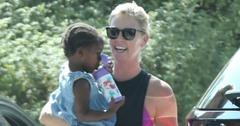 Charlize Theron Daughter Cute Pics Long