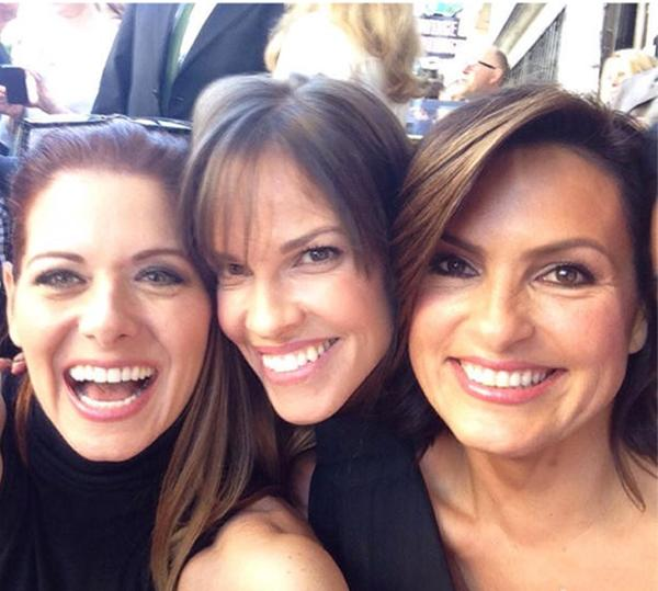Debra Messing, Hilary Swank Mariska hargitay