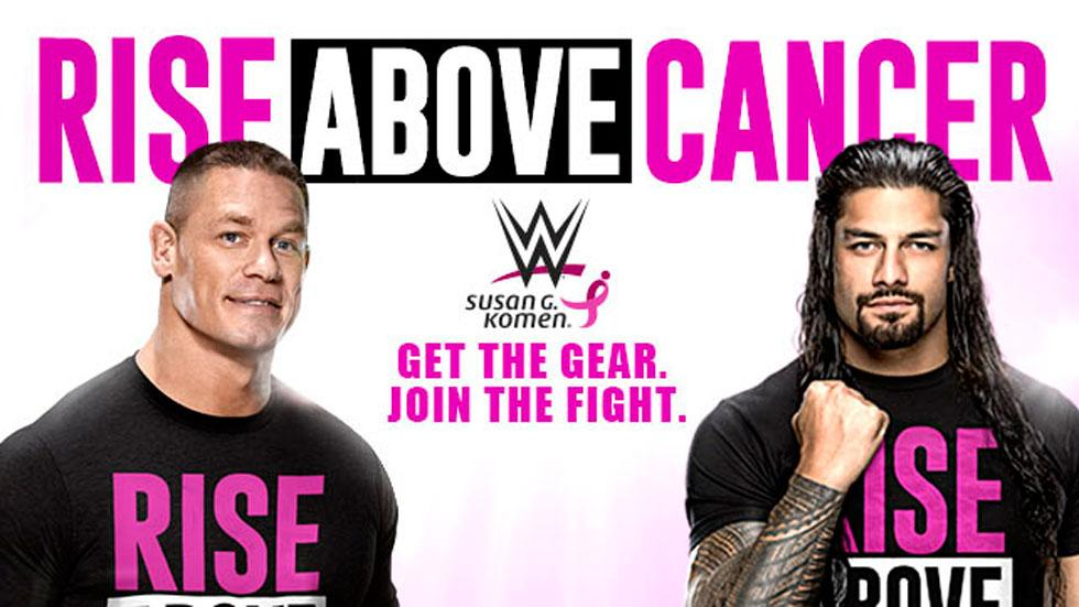 Wwe breast cancer awareness going pink