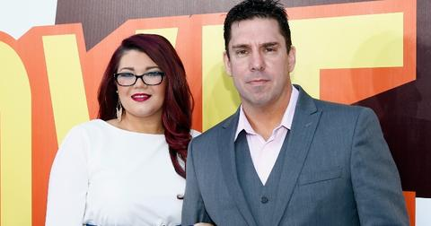 Amber Portwood and Matt Baier pose on a red carpet in 2015