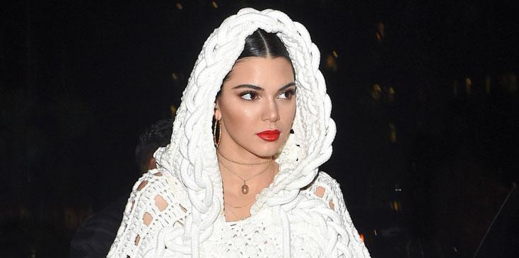 Kendall Jenner ASAP Rocky Ring Bella Gigi Hadid London Fashion Week Long