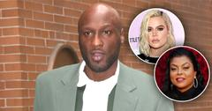 Lamar Leaving Taraji For Khloe PP