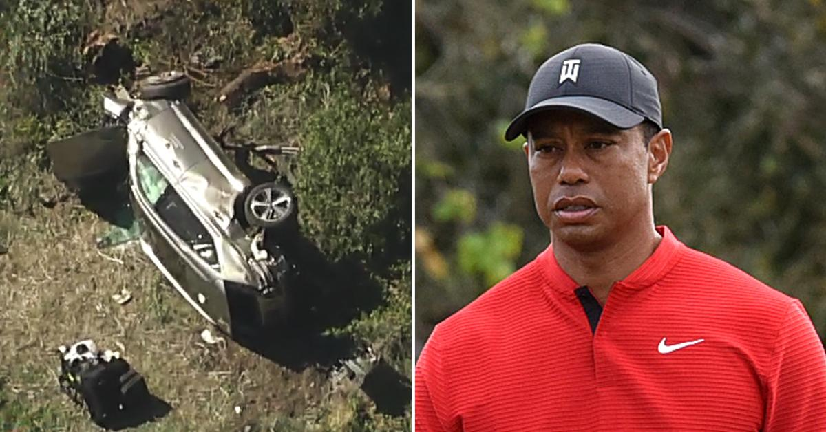 Detectives Find Cause of Tiger Woods Crash but Won't Reveal It Unless he Wants them to