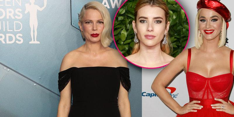 How Michelle Williams, Emma Roberts & Katy Perry coping during Covid-19