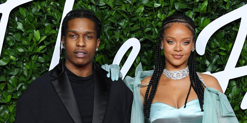 A$AP Rocky And Rihanna On Red Carpet