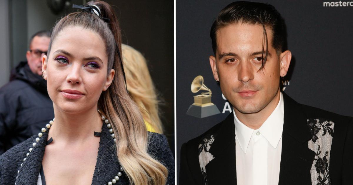 ashley benson splits with geazy pp