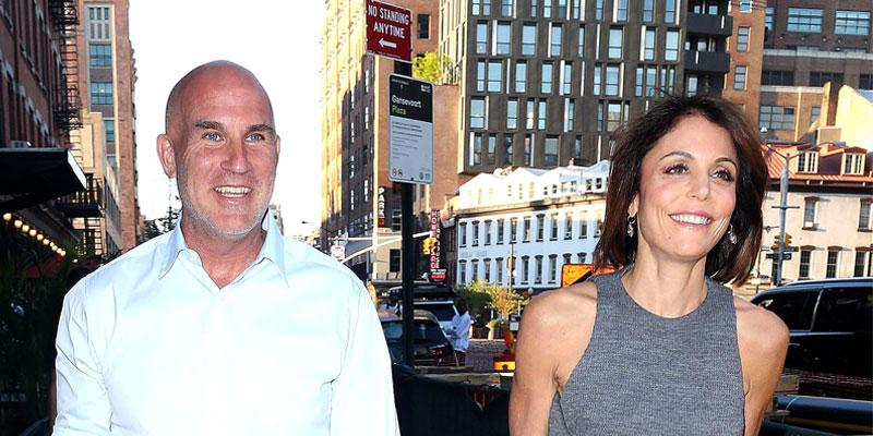 Dennis Shields And Bethenny Frankel On The Street In NYC
