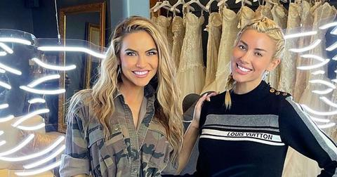 Heather Rae Young Goes Wedding Dress Shopping With Chrishell Stause