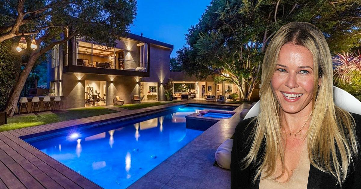 Chelsea Handler Parts With Magnificent Bel Air Mansion For Hefty $10.5 Million Selling Price — See Photos Inside The Comedian's Glamorous Digs