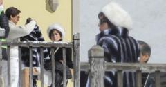 lady gaga adam driver filming house of gucci italy