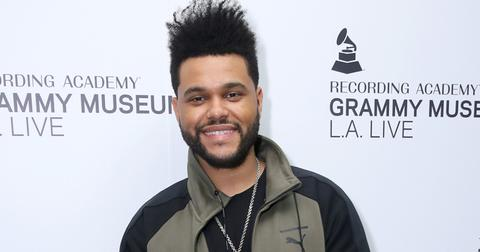 The weeknd cuts ties hm