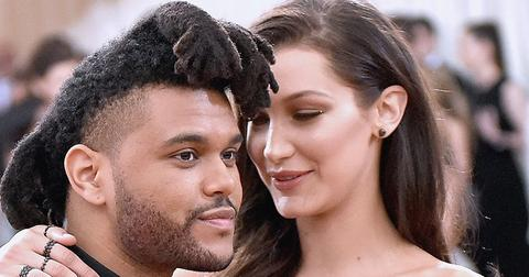 Weeknd Bella Hadid Birthday instagram