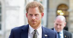 Prince Harry Wearing A Suit