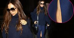Victoria Beckham David Divorce Rumors Skinny Knee Skin Sag