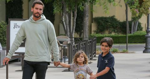 Scott disick kids psych hold