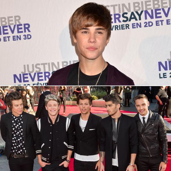 Justin Bieber One Direction