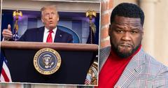 50 Cent Urges Fans To Vote For Trump After Seeing Joe Biden Tax Plan