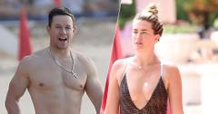 Mark Wahlberg and Wife Rhea Durham Rock Their Toned Bodies During Beach Vacation