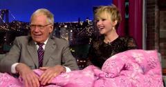 Jennifer Lawrence David Letterman