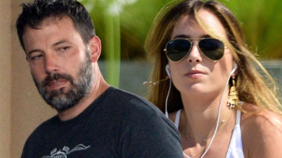 Ben affleck nanny christine ouzounian engaged