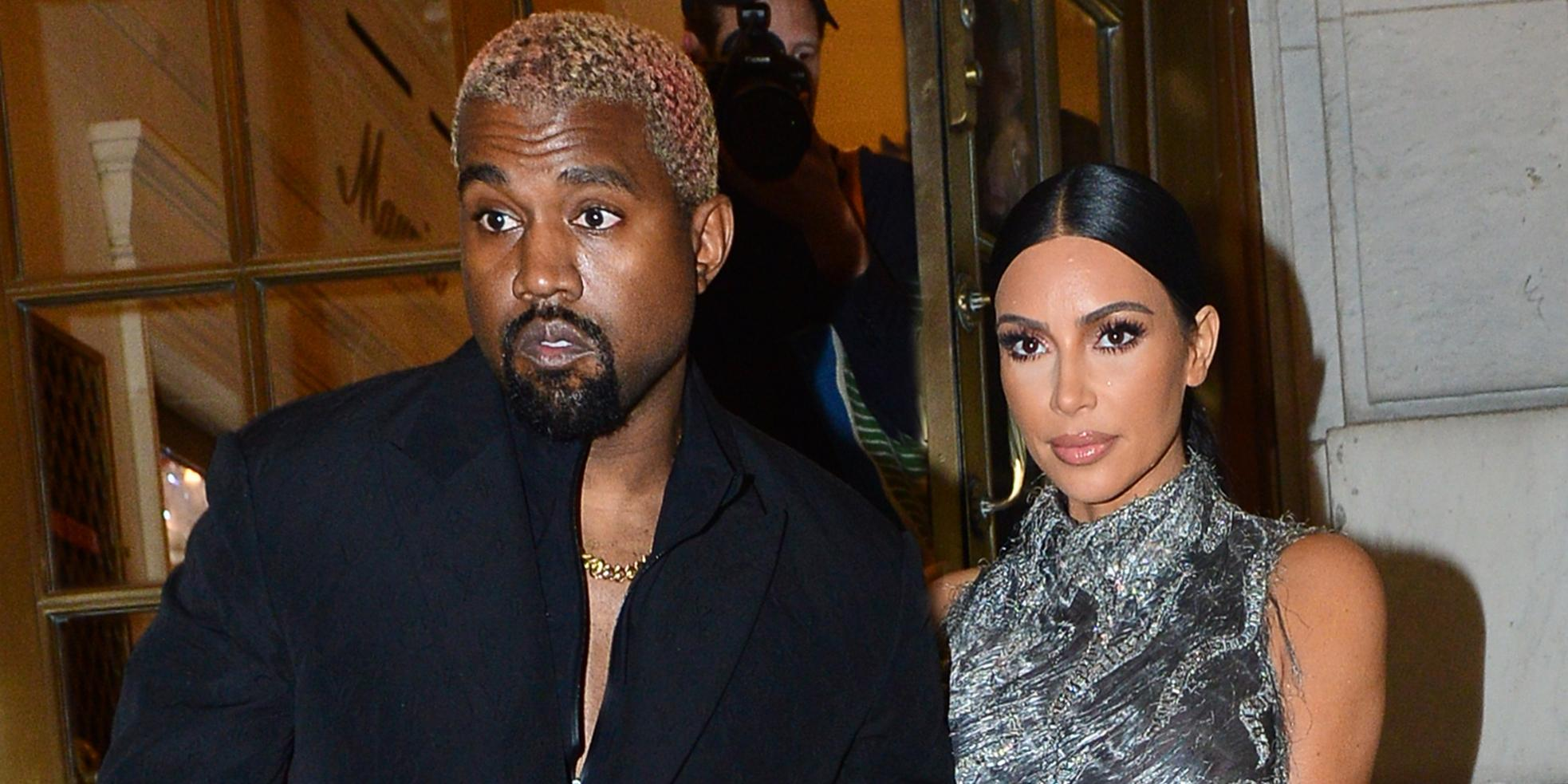 Moving Out? Kanye West Returns Home For 'Awards,' Has 'Been Staying At A Hotel' To Avoid Kim Kardashian Marital Mess