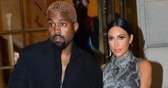 kuwtk kim kardashian kanye west staying at hotel home awards