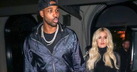 Khloe Kardashian Tristan Thompson Out To Dinner Reconciliation Getting Back Together Rumors