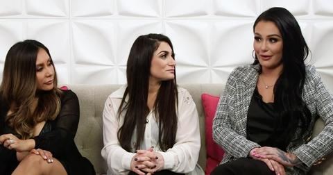 Jenni 'JWoww' Farley With Nicole 'Snooki' Polizzi And Deena Cortese Interview