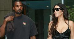 Kim Kardashian and Kanye West  spotted in New York City.