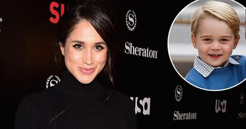 Meghan Markle Prince Harry George Royal Family Long