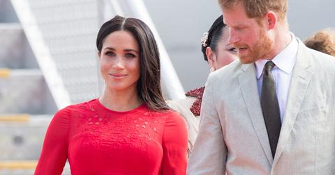 Meghan markle tag in dress post pic