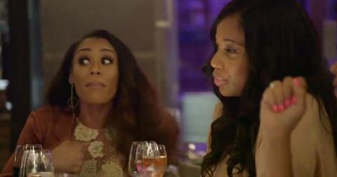 Rhop sneak peek the ladies confront monique being friends with gizelles boyfriends ex wife hero